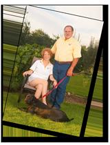 Family Portrait with Pet